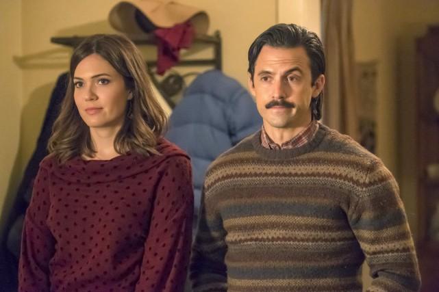 Mandy Moore et Milo Ventimiglia dans This Is... (PhotoRon Batzdorff, fournie par NBC)