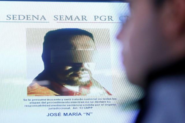 José Maria Guizar Valencia, alias «Z43», a été... (REUTERS)
