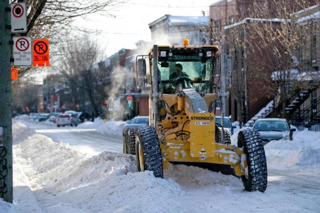 En date du 9février, Montréal évalue avoir reçu... (PHOTO DAVID BOILY, ARCHIVES LA PRESSE)