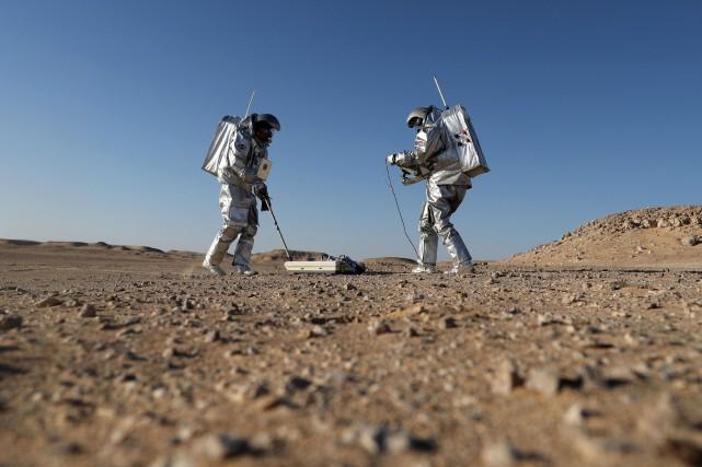 Ce désert désolé dans le sud du sultanat... (PHOTO KARIM SAHIB, AFP)