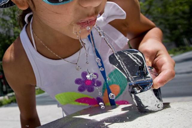En modifiant les habitudes des enfants, il devrait... (Photo David Boily, Archives La Presse)