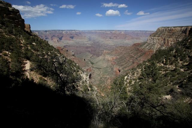 L'accident a eu lieu à Grand Canyon West,... (REUTERS)