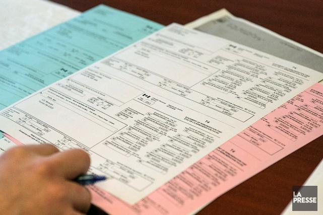 Des formulaires dimpôt envoyés par la poste à certains