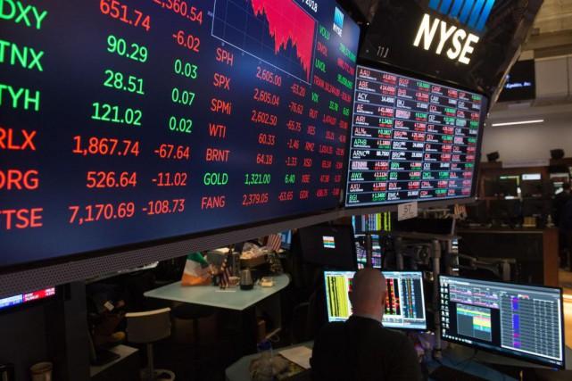 «[Une correction] était très attendue dans les marchés... (PhotoBryan R. Smith, archives Agence France-Presse)