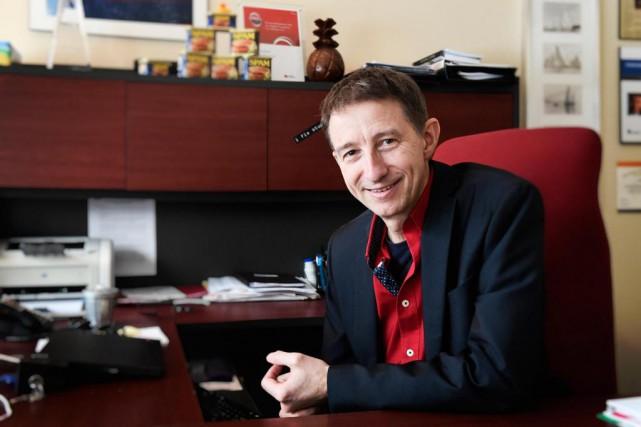 David Poellhuber, président deZEROSPAM... (Photo Bernard Brault, La Presse)