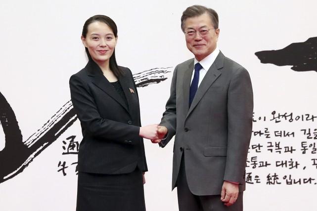 Kim Yo Jong a formellement transmis samedi lors... (AP)