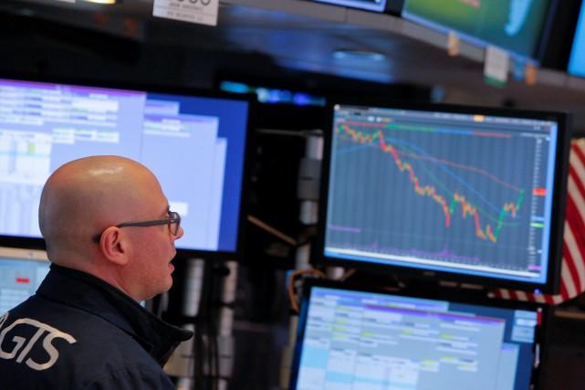 «L'oeil du cyclone est derrière nous. Les marchés... (PHOTO REUTERS)