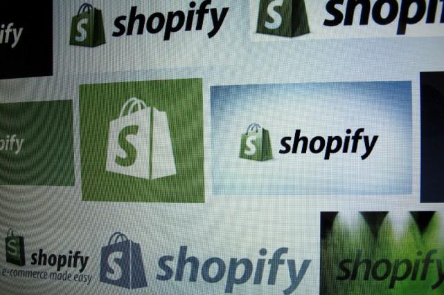 Shopify a affiché une perte de 3 millions... (REUTERS)