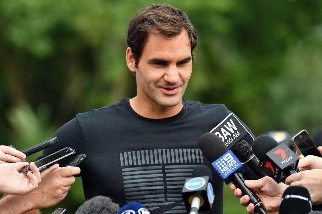 Roger Federer pourrait devenirà 36 ans le numéro... (Photo Saeed Khan, AFP)