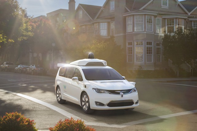 Waymo, la filiale d'Alphabet (ex-Google) chargée de développer... (Photo : Waymo)