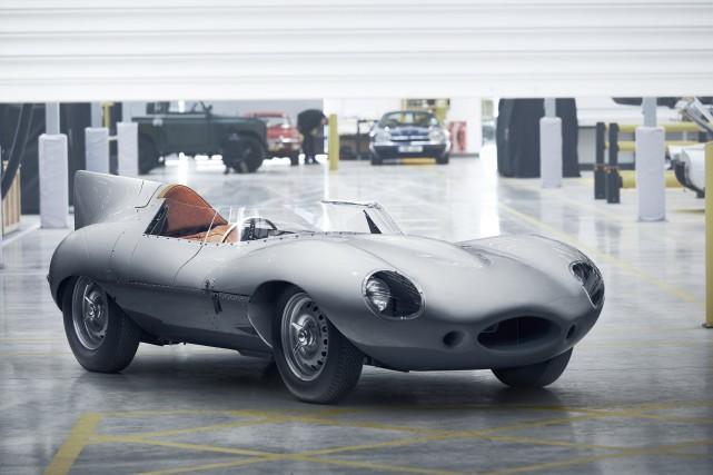 Jaguar D-Type... (photo Jaguar)