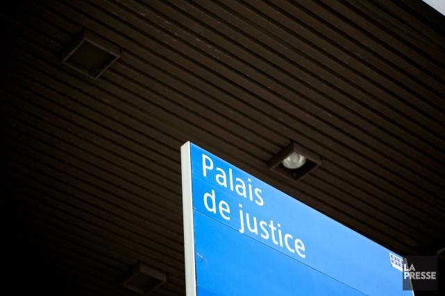 Les accusés, Serge Fournier, Paul Thomas Bryntwick, Walter... (ARCHIVES LA PRESSE)