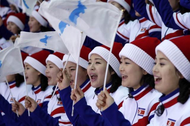 Les JO de PyeongChang ont favorisé une détente... (PHOTO REUTERS)