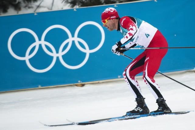 Alex Harvey a complété le parcours de 1,4... (Photo Nathan Denette, La Presse canadienne)