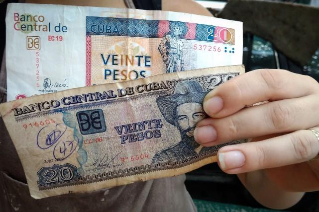 Instituée en 1994, la dualité monétaire est la... (AFP)