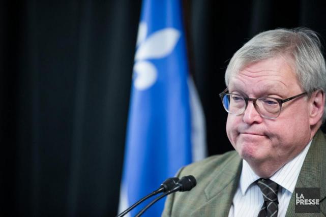 Le ministre de la Santé du Québec, Gaétan... (Photo Marco Campanozzi, La Presse)