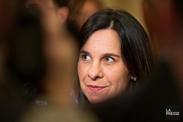 Valérie Plante... (Photo Patrick Sanfaçon, archives La Presse)