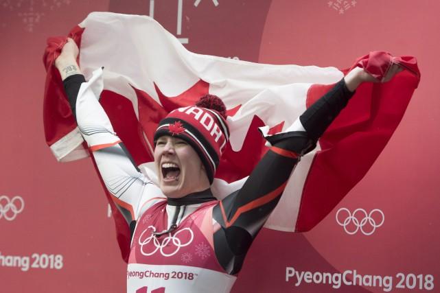 Participant à ses quatrièmes Jeux, Alex Gough a... (Photo Jonathan Hayward, La Presse canadienne)
