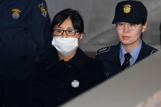 Choi Soon-sil, 61 ans, est la fille d'un... (REUTERS)