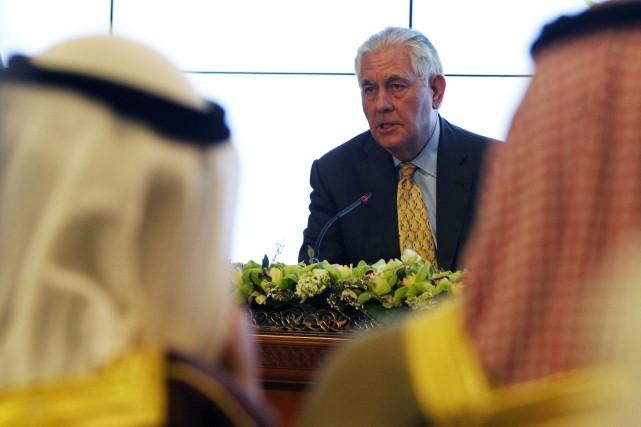 La réunion de cette coalition antidjihadistes menée par... (Photo AP)
