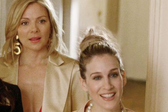 Kim Cattrall et Sarah Jessica Parker dans Sex... (Photo Craig Blankenhorn, fournie par HBO, archives La Presse canadienne)