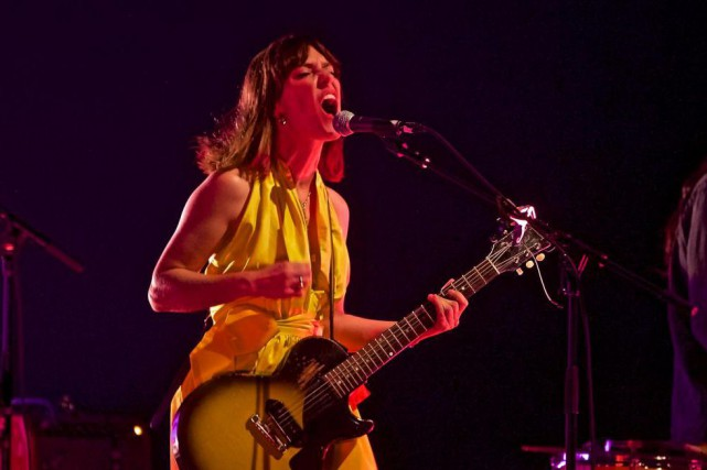 La chanteuse Feist... (Photo André Pichette, Archives La Presse)
