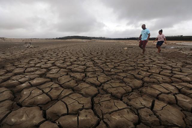 Mais après trois ans de sécheresse historique, dans... (Photo Mike Hutchings, Reuters)