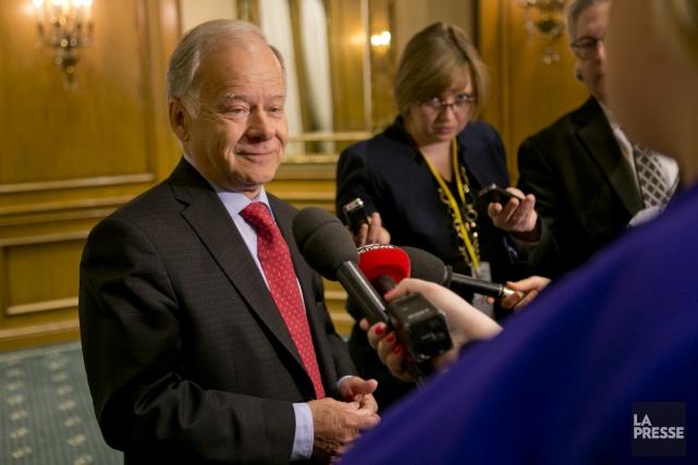 Selon l'ex-ministre québécois des Finances Raymond Bachand, les... (Photo archives La Presse)