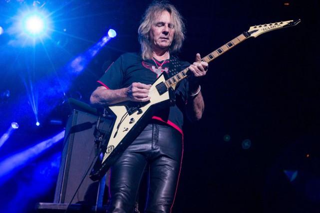 Glenn Tipton de Judas Priest... (Photo archives AP)
