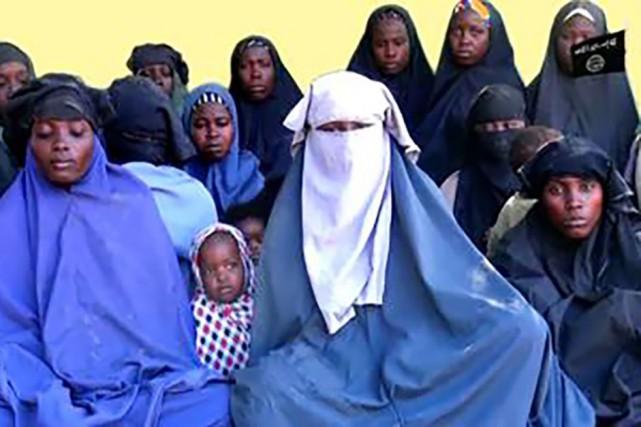 Quatorze des lycéennes de Chibok.... (Photo Agence France-Presse)