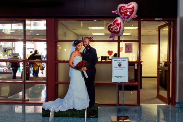Pour la Saint-Valentin, il est possible d'obtenir un... (Photo AFP)