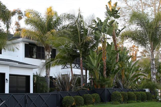 Johnny Hallyday était propriétaire de deux luxueuses maisons... (Photo archives AFP)
