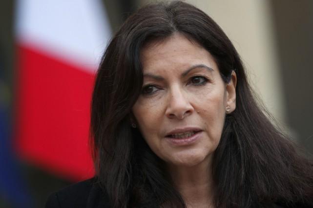 Anne Hidalgo, mairesse de Paris.... (Photo archives AP)