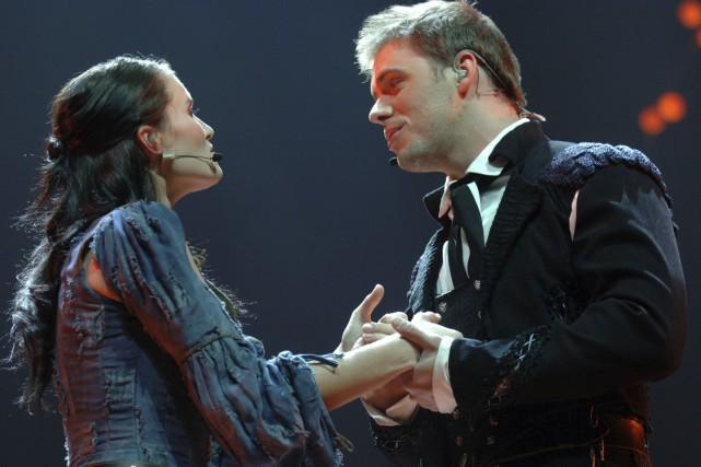 Marie-Ève Janvier et Jean-François Breau, lors de la... (Photo Archives La Presse)