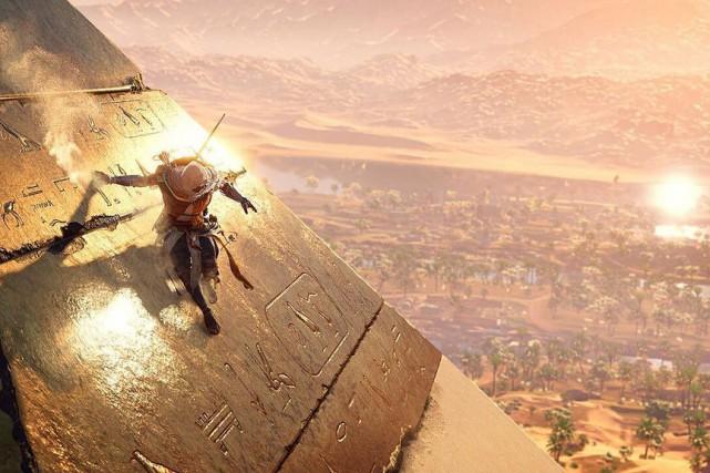 Le jeuAssassin's Creed-Origins a étélancé en octobre dernier.... (FLICKR)