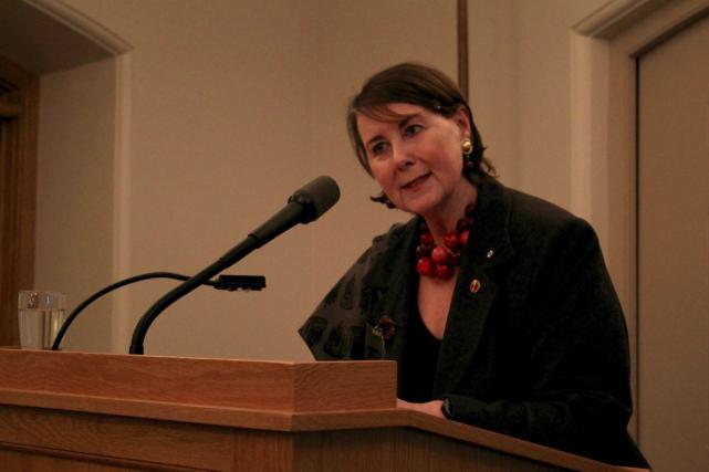 La sénatrice Marilou McPhedran a mis sur pied... (Photo tirée de la page Facebook de Marilou McPhedran)