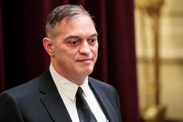 L'ex-chef du SPVM Philippe Pichet est désormais réaffecté... (PHOTO HUGO-SÉBASTIEN AUBERT, ARCHIVES LA PRESSE)