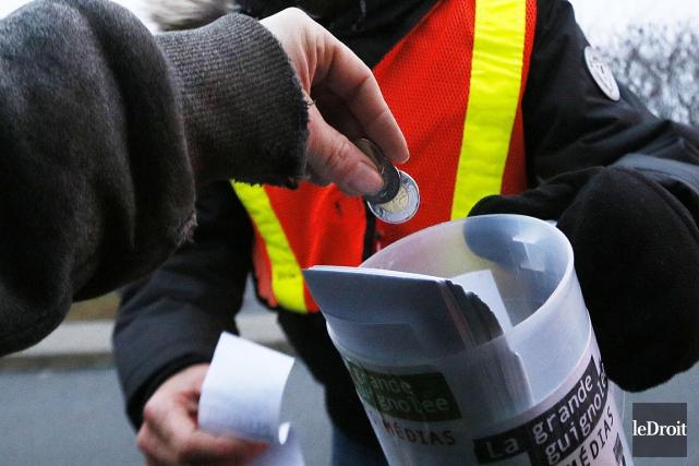 La moitié des donateurs québécois - qui ont... (Simon Séguin-Bertrand, archives LeDroit)