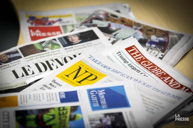 La crise de la presse écrite découle principalement... (Photo Olivier Jean, archives La Presse)