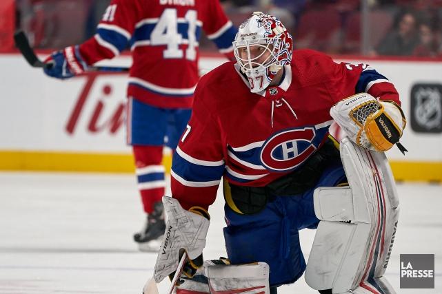 Antti Niemi sera devant le filet du Canadien,... (Photo André Pichette, archives La Presse)