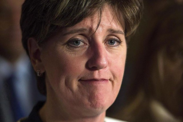 La ministre fédérale du Développement international, Marie-Claude Bibeau... (Photo Sean Kilpatrick, archives La Presse canadienne)