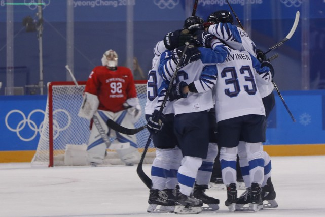 La Finlande a terminé au troisième rang du... (Photo Grigory Dukor, Reuters)
