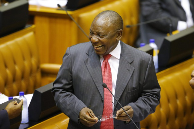 Cyril Ramaphosa... (Photo AP)