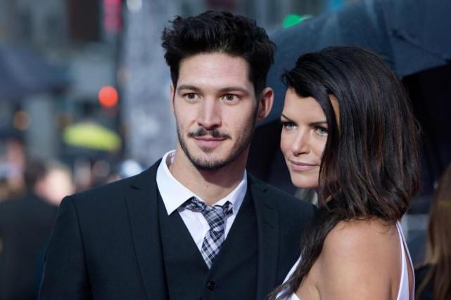 Éric Bruneau et KimLévesque-Lizotte deviendront parents, a annoncé... (PHOTO ROBERT SKINNER, archives LA PRESSE)