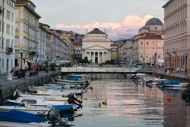 La ville de Trieste.... (PHOTO ROBERT SKINNER, LA PRESSE)