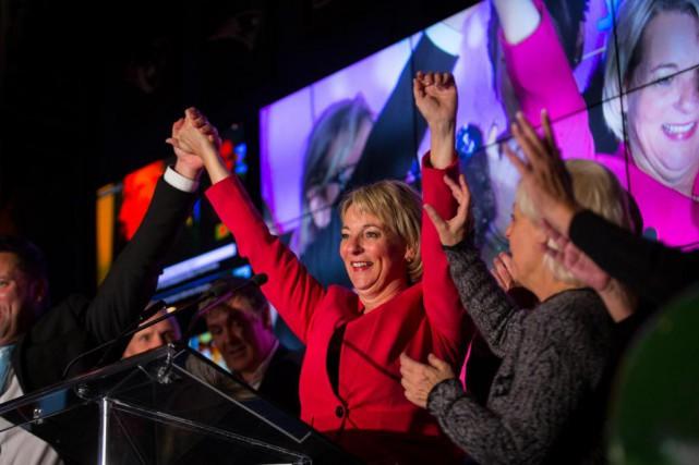 Sylvie Parent a été portée à la mairie... (PHOTO OLIVIER JEAN, ARCHIVES LA PRESSE)