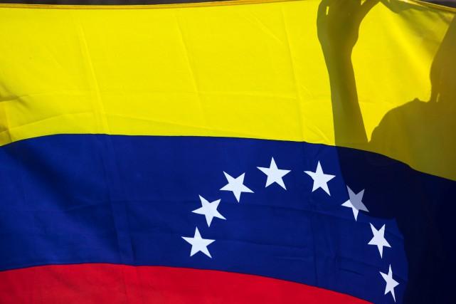 Le drapeau du Venezuela.... (Photo Juan Medina, REUTERS)