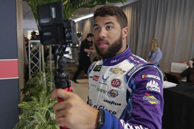 Darrell Wallace Jr. s'est payé une petite vidéo... (photo AP)