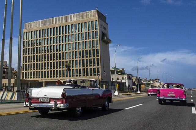 L'ambassade américaine à Cuba.... (ARCHIVES AP)