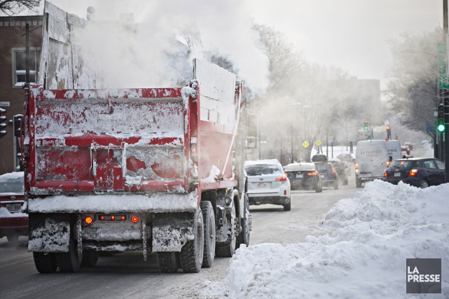 Количество снега, выпавшего в Монреале к середине февраля, превысило норму